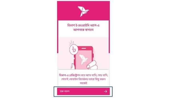 bKash launched eKYC for digitally opening account