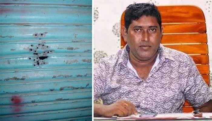 নোয়াখালীতে যুবলীগ নেতা মঞ্জুর ব্যবসা প্রতিষ্ঠানে দুর্বৃত্তদের গুলি